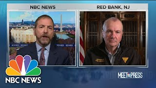 Full N.J. Gov.: 'We Have Suffered An Extraordinary Toll' | Meet The Press | NBC News