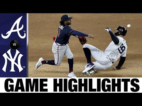 Braves vs. Yankees Game Highlights (4/21/21) | MLB Highlights