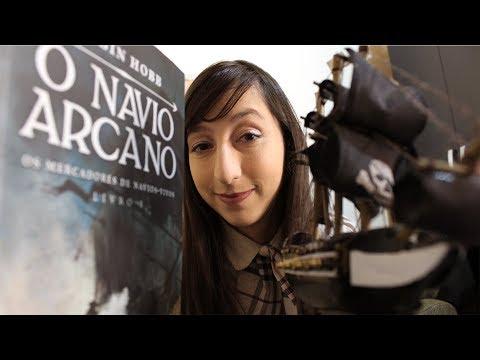 O NAVIO ARCANO - Robin Hobb ? | Alegria Literária