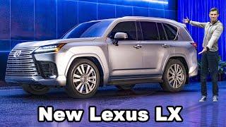 New Lexus LX 600 - Japan's Rolls-Royce Cullinan!