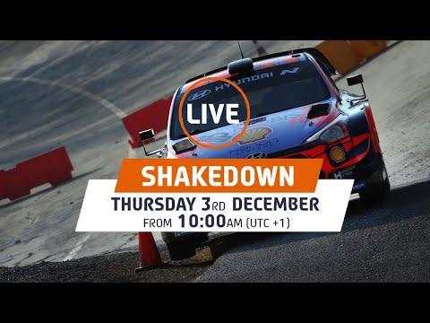 WRC第7戦ラリー・モンツァ モンツァサーキットで行われたヒュンダイのシェイクダウン動画