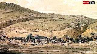 preview picture of video 'Vue générale de saint Paul 1847 - Île de la Réunion'