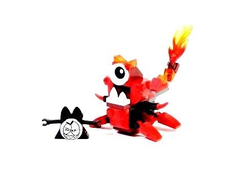 Vidéo LEGO Mixels 41531 : Flamzer