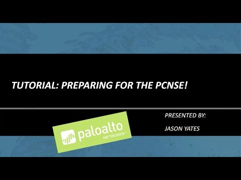 Tutorial: How To Prepare for the PCNSE - YouTube