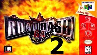 Road Rash 64 - Walkthrough - Part 2 - Bat and a Taser! - Video Youtube