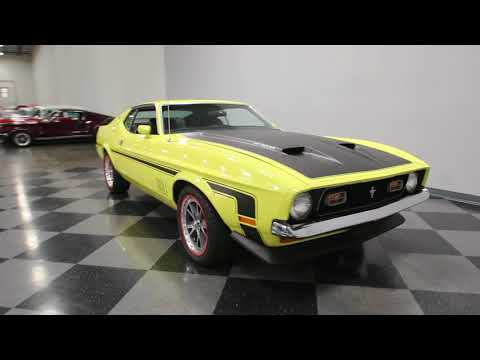 Video of Classic 1973 Ford Mustang Mach 1 located in Lavergne Tennessee - $25,995.00 - LTOR