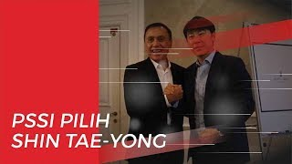 PSSI Buka Suara soal Pihaknya Pilih Shin Tae-yong Melatih Timnas Indonesia