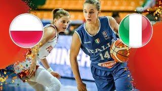 Poland v Italy - Full Game - FIBA U16 Women
