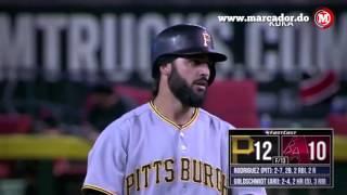 Marcador: Resumen de los partidos en el dia de ayer en la MLB