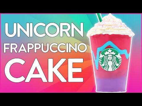 UNICORN FRAPPUCCINO CAKE ft LaurDIY - Starbucks - NERDY NUMMIES