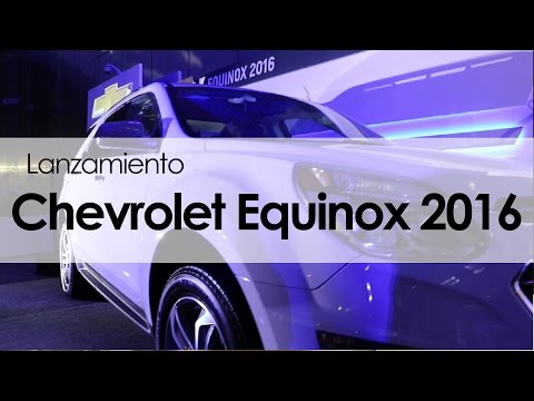 Chevrolet Equinox 2016: Lanzamiento Mp3