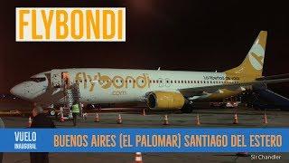 Flybondi: Vuelo El Palomar Santiago Del Estero