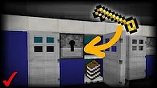 КАК СДЕЛАТЬ РАБОТАЮЩИЙ СЕЙФ В MINECRAFT PE 1.1 !!! НОВЫЙ ТРЮК !!! БЕЗ МОДОВ !!!