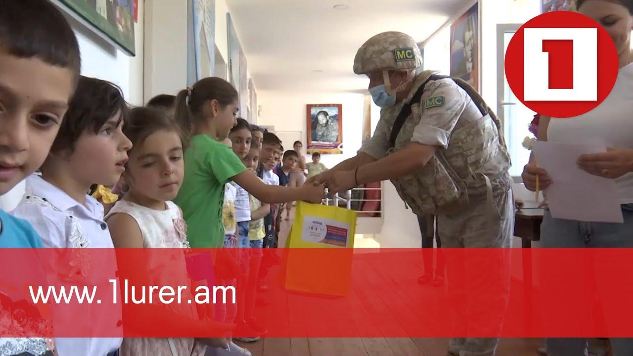Rusiya sülhməramlıları Artsaxda humanitar aksiya keçiriblər