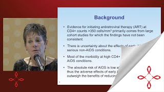 Sharon Walmsley: HIV in 2015: When to Start Treatment (ACT Community Forum)