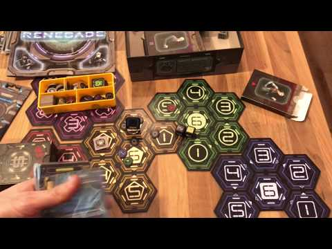 Renegade Boardgame Overview