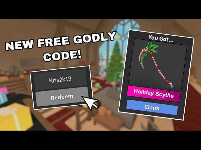 How To Get Free Godlys In Mm2 2019