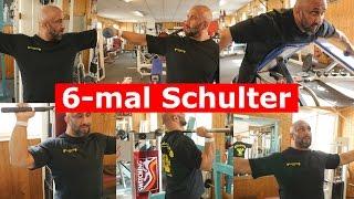 6-mal Schulterübungen!