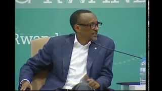 preview picture of video 'President Kagame at Smart Rwanda Days summit 2014 - Kigali, 3 October 2014'