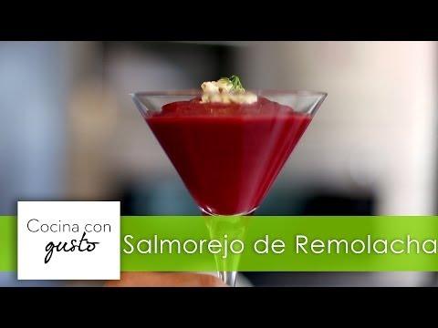 Salmorejo de Remolacha por Mario Sandoval