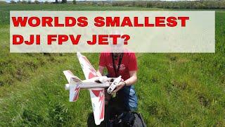 ARROWS VIPER FPV | WORLDS SMALLEST DJI FPV JET!