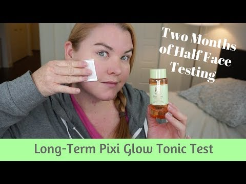 Long-Term Pixi Glow Tonic Test, Review and Demo