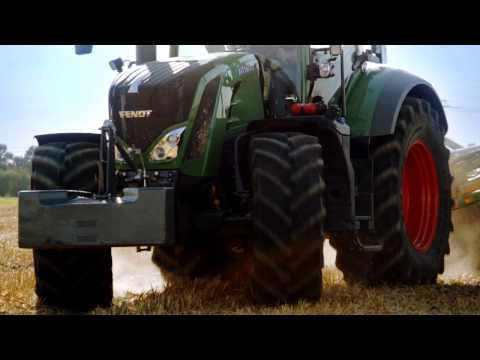Automated steering and 280hp in a tractor