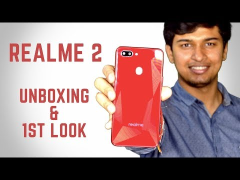 Realme 2: Unboxing & First Look | Price in the description