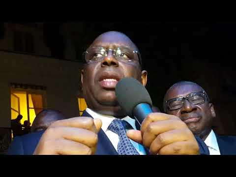 Vidéo- Parrainage : Macky Sall jubile et donne son avis sur l'accueil qui lui est réservé à Paris