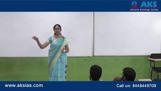 How to crack Group 1 in first attempt? by D. Malleswari Reddy |AKS