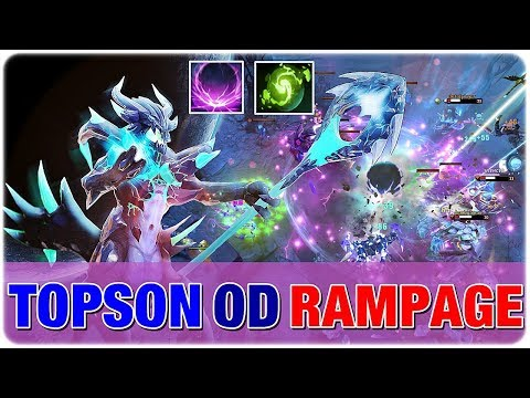 New Meta Imba OD RAMPAGE with Double Ulti! by TOPSON