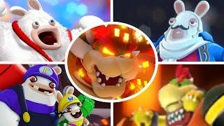 Mario + Rabbids Kingdom Battle - All Bosses