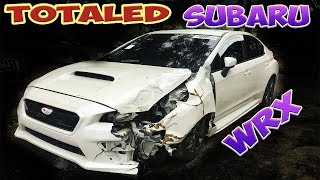 We Bought a Totaled Subaru WRX from Copart! Rebuilding WRX! (Part 1)
