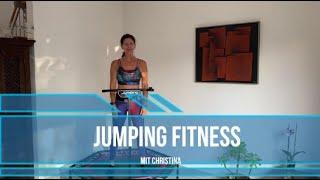 #20 45 Minuten Jumping Fitness Workout mit Christina Rebounder alleswirdgut  Trampolin