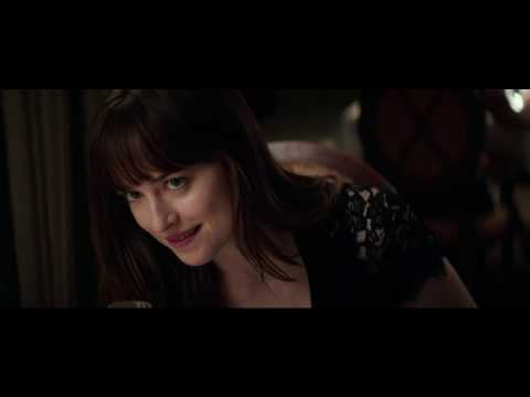 "Date night in a new ""Fifty Shades Darker"" movie clip"