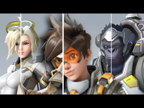Overwatch 2 Side-by-Side HERO Comparisons