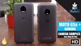 Motorola Moto G5s Plus Gaming, Benchmark, Camera and Vs Motorola Moto G5 Plus