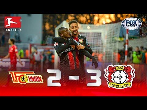 QUE JOGO FOI ESSE?! Melhores momentos de Union Berlin 2 x 3 Bayer Leverkusen na Bundesliga