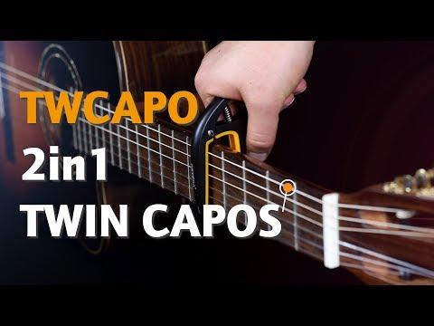 ORTEGA GUITARS | TWCAPO 2in1 TWIN CAPOS