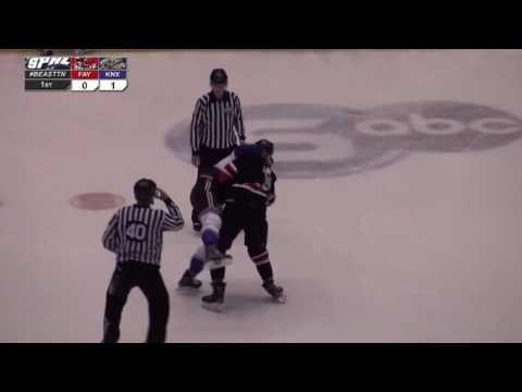 Kyle McNeil vs. Brad Drobot