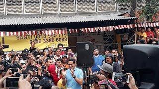 Sandiaga Sambangi Lomba 17 Agustus di Jalan Jaksa, Warga Sambut Antusias