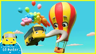 Hot Air Balloon Trouble Buster | Go Buster | Baby Cartoons | Kids Videos
