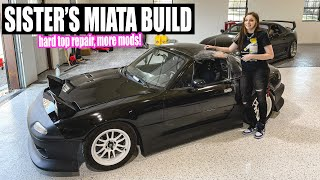 Little Sister's Miata Build: OEM hardtop repair & more mods! Pt. 11 by Evan Shanks