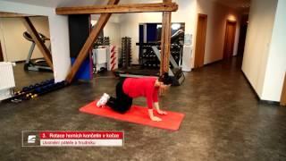 Cvičení pro budoucí maminky 5 - uvolňovací a protahovací cviky