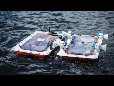 Formwandlung bei MIT-Booten   Roboat