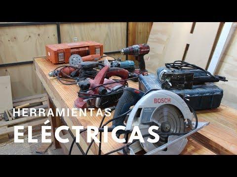 Herramientas básicas para carpintería - Eléctricas