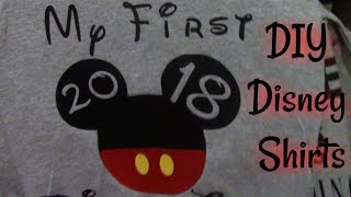 Diy Disney Shirts Free Video Search Site Findclip