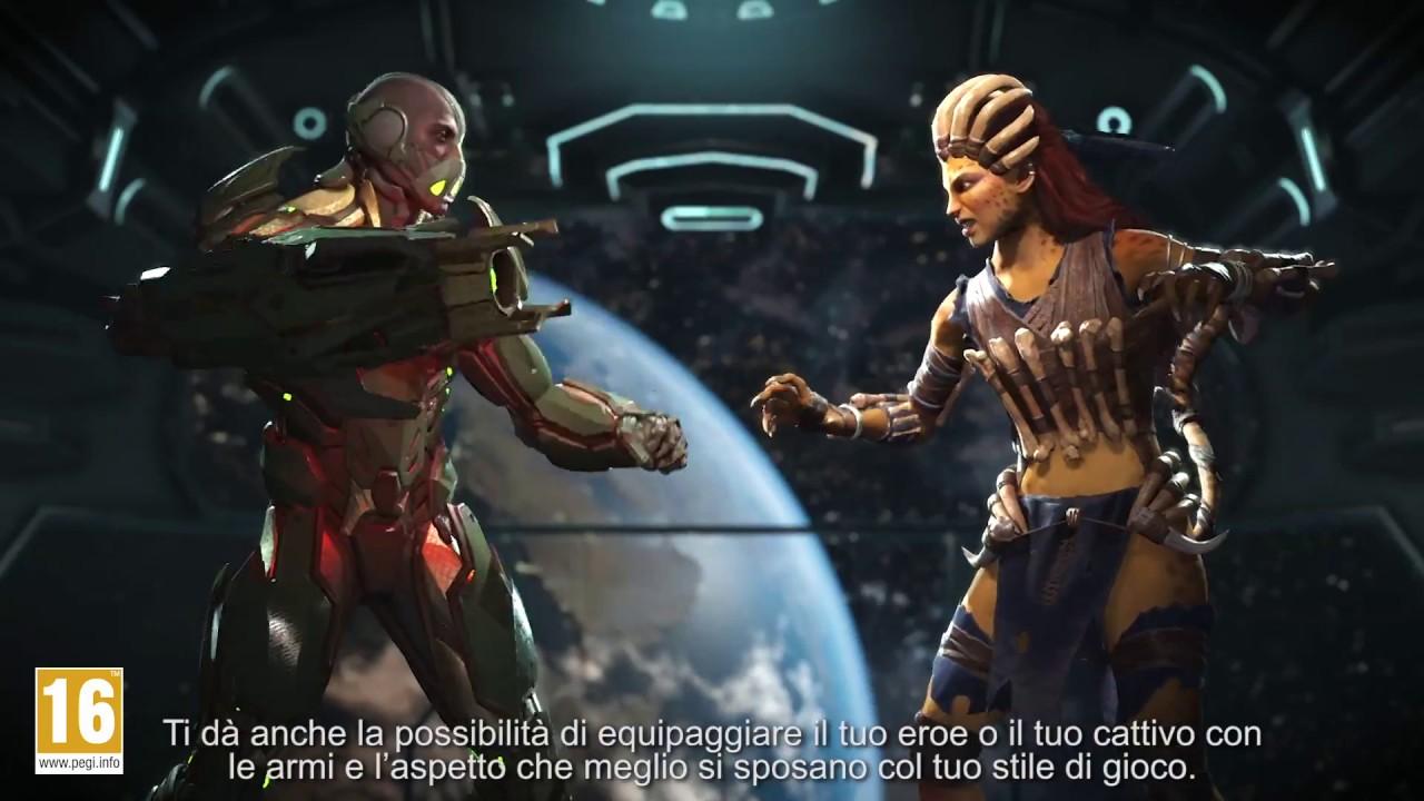 Injustice 2 - Decidi tu come combattere