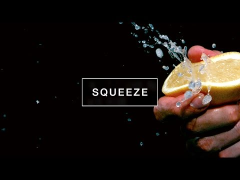 Slow Motion Food #1 : Squeeze | Kitchen Verb