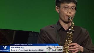 Yen Wei Chang plays Étude 12 – Douze Études Caprices by Eugène BOZZA